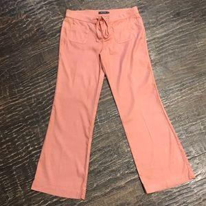 Level 99 Violette High-Rise Linen Lounge Pant Sz29